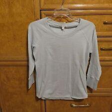 Women's Standard James Perse light green 100% cotton shirt size 2 new NWT $125
