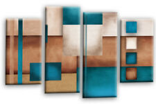 Canvas Large (up to 60in.) Blue Art Prints