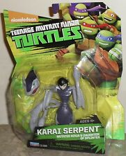 Teenage Mutant Ninja Turtles Karai Serpent Mutated Ninja & Daughter of Splinter