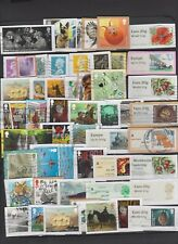 GB Commemoratives, Post/Go , High Value Machins selection used ON PAPER Per Scan