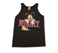 Vtg 80s 90s Disney Mickey Tank Top Size: (L) Black Brand New Made In USA
