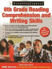 8th Grade Reading Comprehension and Writing Skills (Paperback or Softback)