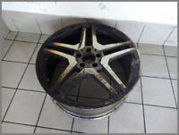 Mercedes Benz W221 Alufelge AMG 8,5x20 ET43 Original 2214013102 Defekt F151