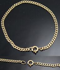 goldenes Armband 333er Gold Gelbgold 19 cm / 3,2 mm Panzerarmband Damen Herren