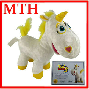 Toy Story Buttercup Signature Collection Thinkway Plush Toy with COA - MINT