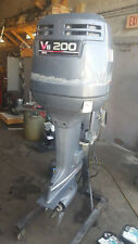 2002 200hp Yamaha 25 Shaft Outboard Engine Motor 120+PSI Excellent 225hp 175hp