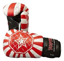 """BOX -/allenamento guanto top ten """"Fight"""" MMA. Guantoni da boxe. Sparring gloves scatole."""