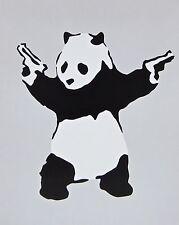 Panda with Guns, Offset Lithograph, BANKSY