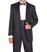 Men's Two Button Stylish White Tuxedo Suit T702 Size 36S - 56L