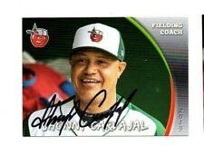 Jhonny Carvajal signed autographed 2019 Fort Wayne Tincaps baseball card