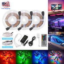 LED Strip Light RGB 3528 SMD Flexible Ribbon RGB Stripe 5M 10M 15M tape kit 3/5A