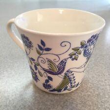 VTG LOTTE TURI-DESIGN FIGGJO NORWAY Handpainted Cup Mug. Man Woman Bird Floral