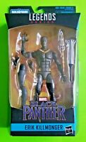 "Marvel Legends Black Panther 6"" Erik Killmonger (Okoye BAF) Action Figure - NEW"