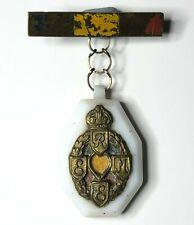 WW2 REME Royal Electrical & Mechanical engineers Sweetheart Brooch