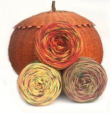 Autumn Trio Yarn Hand Dyed 100% Wool