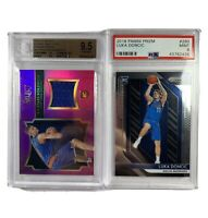 Dallas Mavs Investment Lot — 2018 Luka Doncic PSA 9 And 2015 Porzingis BGS 9.5
