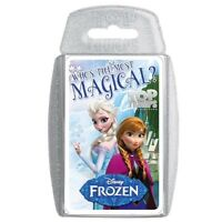Disney Frozen 'Top Trumps' Card Game Puzzle Brand New Gift