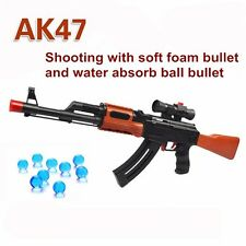 AK 47 Toy Gun Soft Bullet Paintball Water Bullet Pistol Gun Toy Orbeez Water