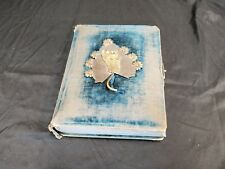 Late 1800s Photo Album w/ 33 Cabinet Cards / Pictures, 12 Babies, 1 Funeral MORE