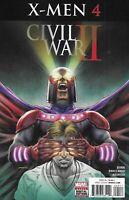 Civil War X-Men Comic 4 Cover A First Print 2016 Cullen Bunn Broccardo Aburtov .