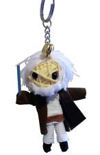 Old Obi-wan Ben Kenobe Jedi Charm Voodoo String Keychain Keyring Doll USA
