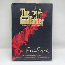 The Godfather: Coppola Restoration Steelbook Trilogy DVD 5 Discs Marlon Brando