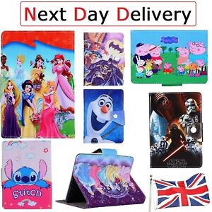 Kids Children Popular Gift Stand up Case Cover Compatible with Apple iPad Models