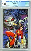 Spider-Woman #1 CGC 9.8 Comic Kingdom of Canada Virgin Edition Kirkham Variant