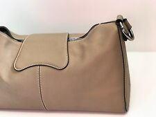 Genuine *Tods*  Tan Leather Small Shoulder Bugatti Bag -  Great Condition!