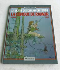 BD ED 1986 • LA QUETE DE L'OISEAU DU TEMPS • LA CONQUE DE RAMOR • DARGAUD •TBE