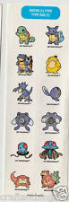 POKEMON Sandylion Scrapbook Scrapbooking Stickers. J60 FAST SHIPPNG