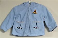 Disney Girls Size 12-18 Months Blue Fully-Lined Hooded Jacket