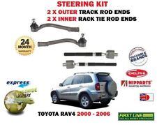Pour Toyota RAV4 2.0 2000- > 2 X Extérieur & 2 X Intérieur Direction Piste Rack