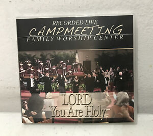 Jimmy Swaggart : Campmeeting - Lord You Are Holy CD Mint Clean Ships Same Day