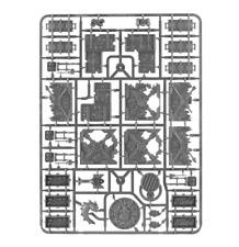 Necromunda Barricades and Objectives - Warhammer 40k Scenery - Unboxed