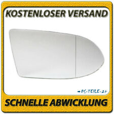 Spiegelglas für OPEL ZAFIRA A 1999-2005 rechts Beifahrerseite asphärisch
