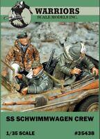 Warriors 1:35 SS Schwimmwagen Crew - 3 Resin Figures Kit #35438