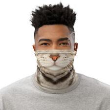 American Shorthair Cat Face Mask Neck Gaiter Washable Balaclava Costume Bandanna