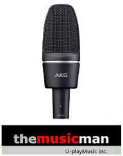 AKG C3000 Multi Purpose Studio Vocal/Instrument Condenser Microphone **NEW**
