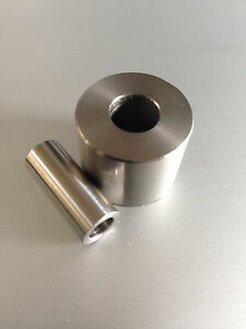 M10 Clearance hole Stainless Steel Spacers/collar bush 25mm od x 8mm to 50mm Lng