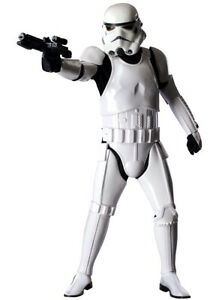 Licensed Supreme Edition Mens Stormtrooper Costume Genuine Rubies - New
