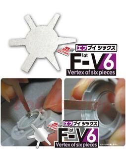 ALEC Model Carved Dedicated Precision Tool 2mm - 7mm Flat Surface V6 Scraper