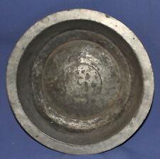 New listing Antique European metal tin bowl