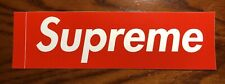 Supreme Box-Logo Red Sticker Authentic Brand New Free Shipping