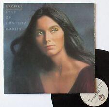 "Vinyle 33T Emmylou Harris   ""Profile - Best of emmylou Harris"""