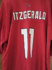 "NWOT AZ Cardinals NFL ""Larry Fitzgerald"" #11 Jersey Adult (L) Reebok NFL $69"