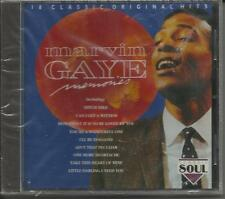""" MARVIN GAYE - MEMORIES "" 18 SONGS (CAN I GET A WITNESS) - BRAND NEW"