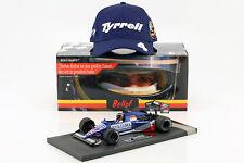S. bellof Tyrrell 012 #4 GP ZANDVOORT de Formule 1 1984 avec Cap 1:18 Minichamps