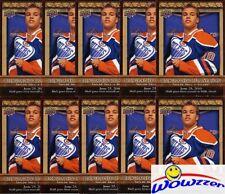 (10) 2010/11 Upper Deck #BOS9 Taylor Hall ROOKIE Oilers