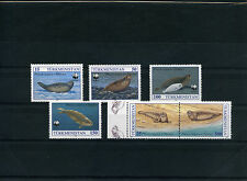 TURKMENISTAN 1993 PROTEZIONE ANIMALI WWF FOCA 6 VALORI  NUOVI MNH NEW